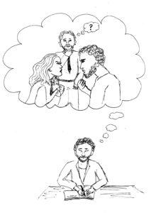 Wer ab und zu die Außenperspektive einnimmt, kann seine Ehe verbessern.